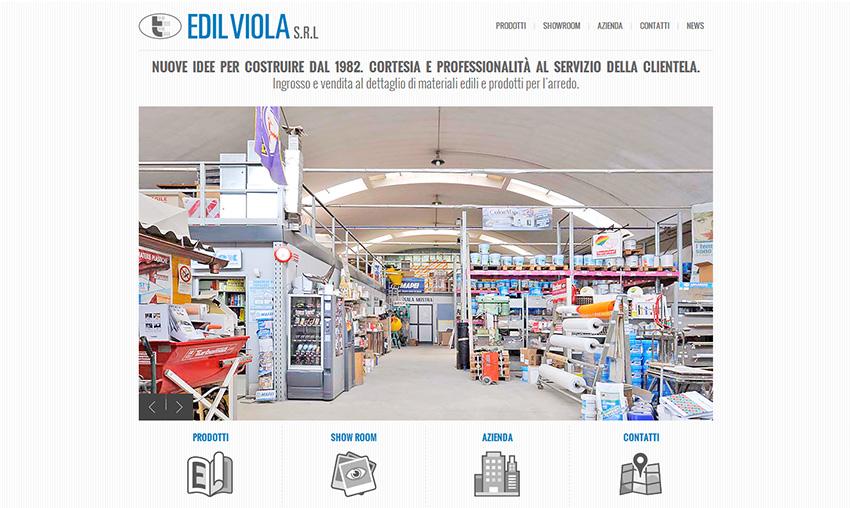 Edilviola online con il nuovo sito web